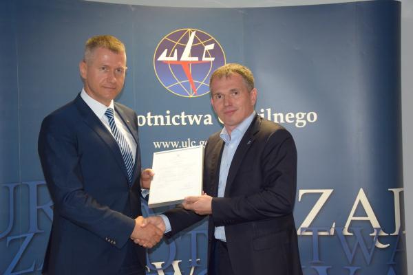 PL certyfikat Jaroslaw Wroblewski Piotr Gozdzik ULC
