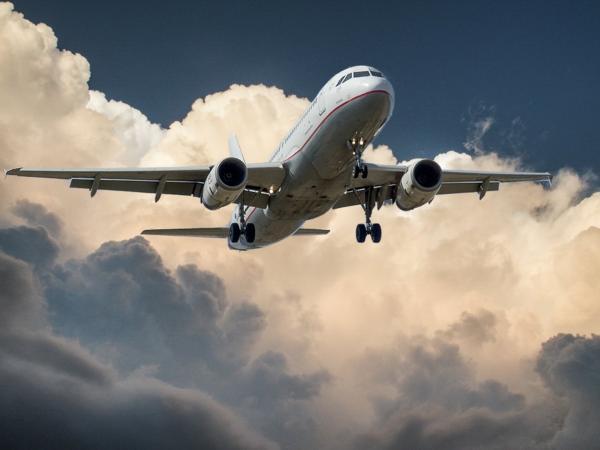 large plane