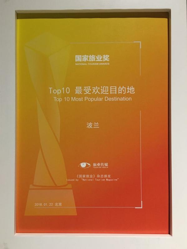 Nagroda Chiny 1