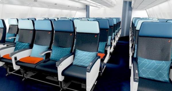 Kabina Air France Economy