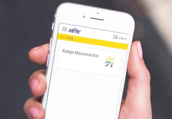 Bilety Kolei Mazowieckich w aplikacji mPay 1
