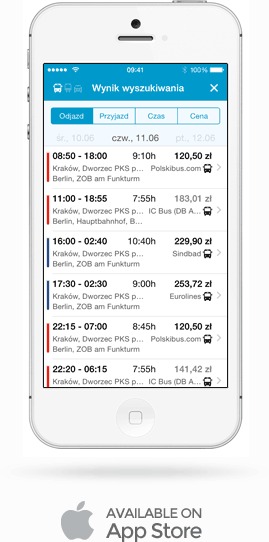 Busradar.pl App iOS