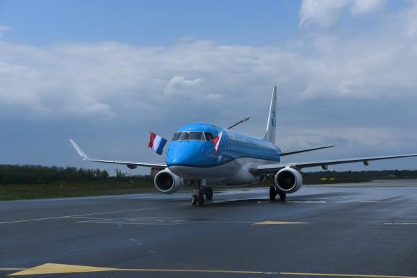 KLM Wroclaw airport 2019.05.06 1
