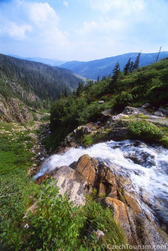 Karkonosze Wodospad abski. fot. Lubomir Stiburek