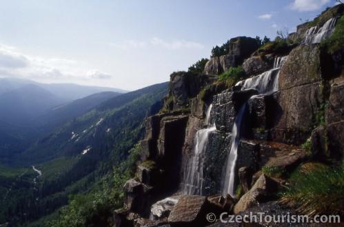 Karkonosze wodospad Pancavski