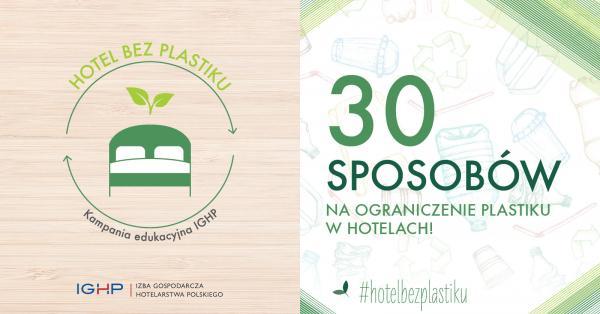 Hotel bez plastiku banner
