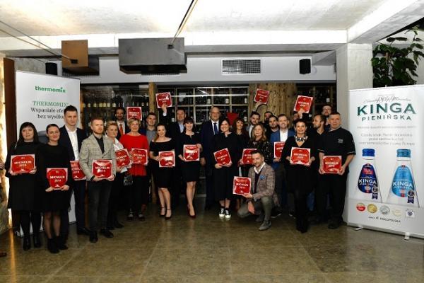 Nagrodzeni Plakietami Michelin Krakow 2019