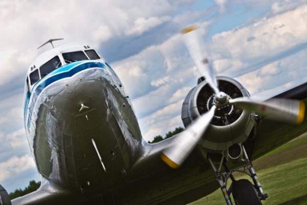 KLM samolot