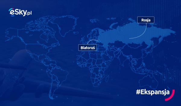 Grupa eSky wchodzi do Rosji
