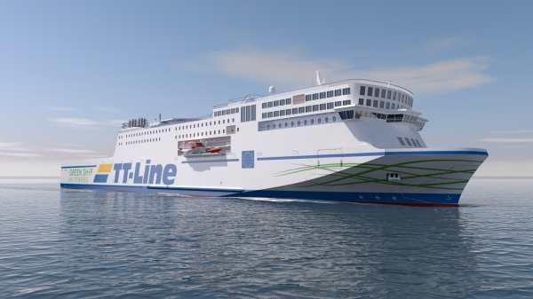 TT Line Green Ship