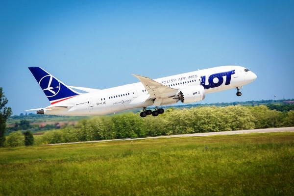 Dreamliner LOT Polish Airlines