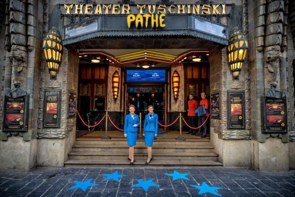 102 urodziny KLM kino Tuschinski1